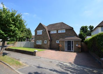 Thumbnail 4 bed detached house for sale in Evelyn Way, Cobham