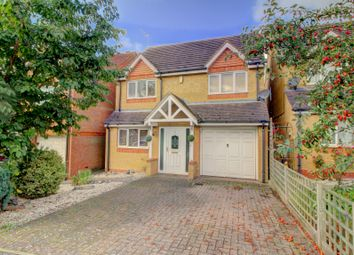 Thumbnail 4 bed detached house for sale in Farmers Close, Wooton, Northampton