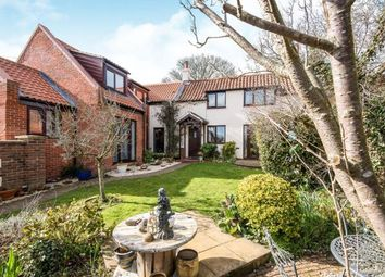 Thumbnail 4 bed link-detached house for sale in Lenwade, Norwich, Norfolk