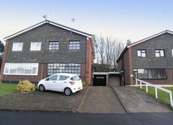 Thumbnail 3 bedroom semi-detached house for sale in Dudley, Russells Hall, Ashenhurst Road