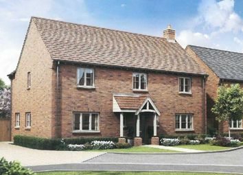 Thumbnail 4 bed detached house for sale in Long Street Road, Hanslope, Milton Keynes