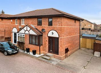 Thumbnail 3 bedroom semi-detached house for sale in Armstrong Close, Crownhill, Milton Keynes