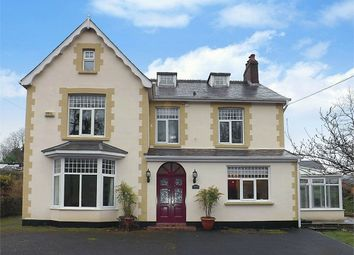 Thumbnail 5 bed detached house for sale in Station Road, Caehopkin, Abercrave, Swansea, Powys