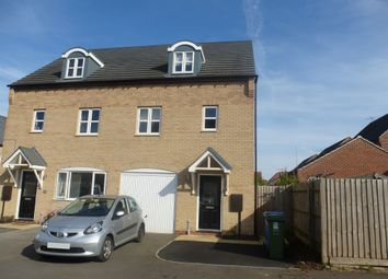Thumbnail 3 bed semi-detached house for sale in Waterfield Avenue, Warsop, Mansfield