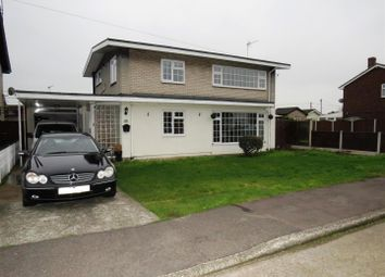 Thumbnail 3 bed detached house for sale in San Remo Road, Canvey Island