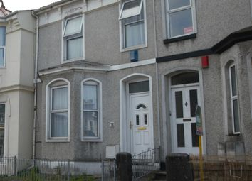 Thumbnail 3 bedroom terraced house to rent in Grenville Road, Plymouth