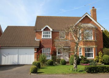 Thumbnail 4 bed detached house for sale in Blamire Drive, Binfield
