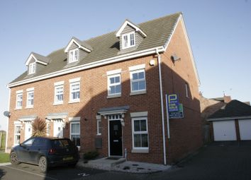 Thumbnail 3 bedroom end terrace house for sale in Manor Court, Newbiggin-By-The-Sea