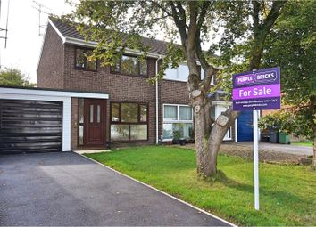 Thumbnail 3 bed semi-detached house for sale in Saffron Close, Royal Wootton Bassett