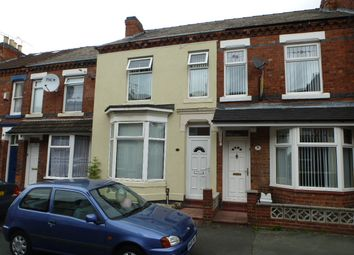 Thumbnail 3 bed terraced house to rent in Samuel Street, Crewe, Cheshire