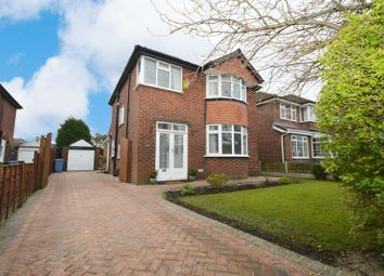 Thumbnail 3 bed detached house for sale in Wilmslow Road, Heald Green, Cheadle