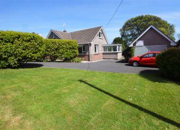 Thumbnail 5 bedroom detached bungalow for sale in Steynton Road, Steynton, Milford Haven