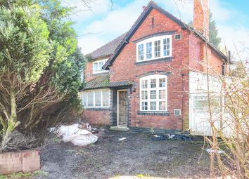 Thumbnail 3 bed detached house for sale in Newton Road, Great Barr, Birmingham