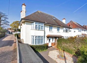 Thumbnail 3 bedroom semi-detached house for sale in Phillipps Avenue, Exmouth
