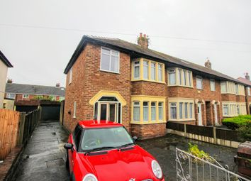 Thumbnail 3 bedroom end terrace house for sale in Fitzroy Road, Blackpool