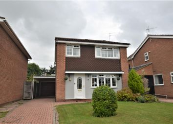Thumbnail 4 bed detached house for sale in Belvedere Close, Mickleover, Derby