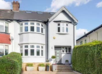 Thumbnail 4 bed semi-detached house for sale in Beechwood Avenue, Finchley Central, London