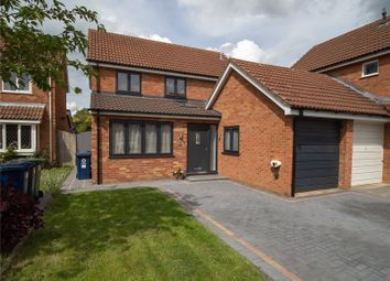 Thumbnail 4 bed link-detached house for sale in Sundew Close, Eaton Ford, St Neots