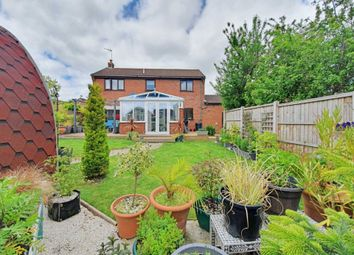 Thumbnail 4 bed detached house for sale in Middlefield Drive, Great Finborough