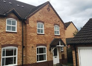 Thumbnail 3 bed property to rent in Wye Close, Hilton, Derby