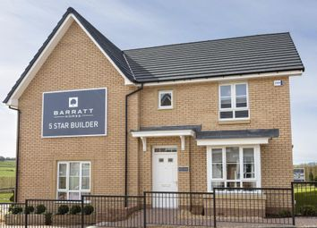 "Thumbnail 3 bed semi-detached house for sale in ""Doune Alt"" at Manse Road, Stonehouse, Larkhall"