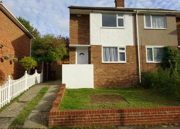 Thumbnail 2 bed semi-detached house for sale in Hook Close Davis Estate, Chatham
