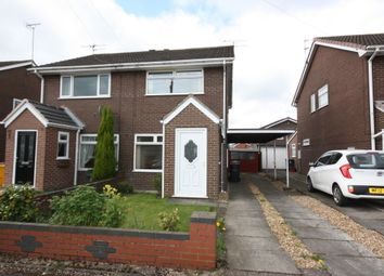 Thumbnail 2 bed semi-detached house for sale in Tamar Road, Kidsgrove, Stoke-On-Trent