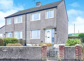 Thumbnail 3 bed semi-detached house for sale in Criffel Road, Parton, Whitehaven