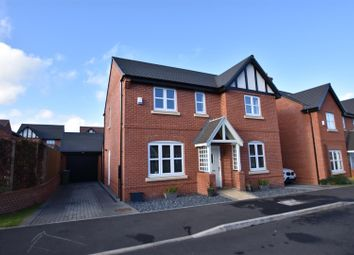 Thumbnail 4 bed detached house for sale in Belfry Place, Shepshed, Loughborough