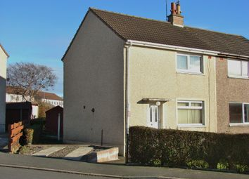 Thumbnail 2 bed semi-detached house for sale in 7 Dunbae Road, Stranraer