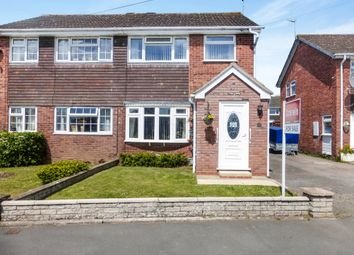 Thumbnail 3 bed semi-detached house for sale in Winnipeg Close, Worcester