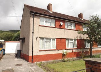 Thumbnail 3 bed semi-detached house to rent in Morfa Glas, Glynneath, Neath