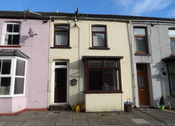 Thumbnail 2 bed terraced house to rent in Station Row, Pontyrhyl