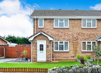 Thumbnail 2 bed semi-detached house for sale in Lon Glanfor, Abergele