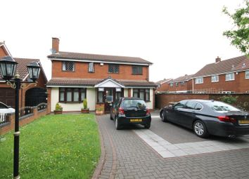 Thumbnail 5 bed detached house to rent in Meadow Grange Drive, Willenhall