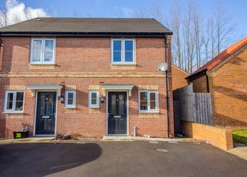 Thumbnail 2 bed semi-detached house to rent in Maple Avenue, Woodside Chase, Catterick Garrison