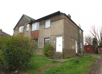 Thumbnail 3 bedroom flat for sale in Chirnside Road, Glasgow