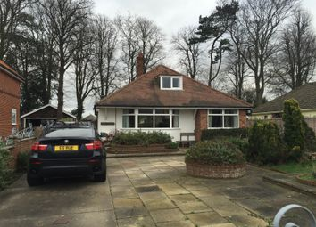 Thumbnail 4 bed detached bungalow to rent in Station Road, Corton, Lowestoft