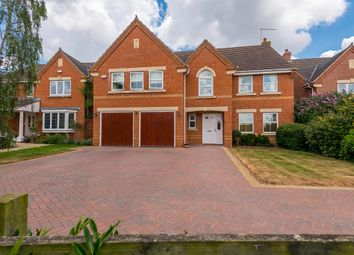 Thumbnail 5 bedroom detached house for sale in Roman Close, Wootton, Northampton