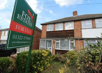 Thumbnail 3 bed semi-detached house for sale in Weardale Avenue, Dartford