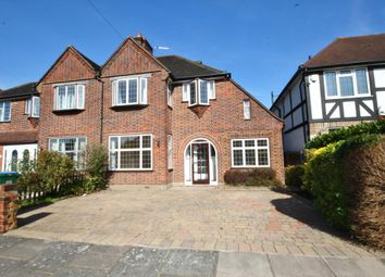 Thumbnail 4 bed semi-detached house to rent in Redway Drive, Twickenham