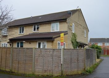 Thumbnail 2 bed end terrace house for sale in Stodelegh Close, Worle, Weston-Super-Mare