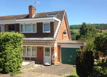 Thumbnail 3 bed semi-detached house to rent in Fleming Avenue, Sidmouth