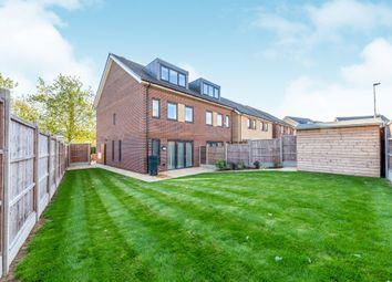 Thumbnail 4 bed semi-detached house for sale in Cowper Close, Ware