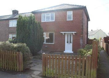 Thumbnail 3 bed terraced house to rent in Haley Road North, Burtonwood, Warrington