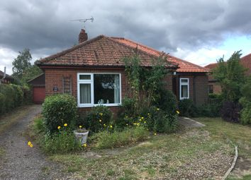 Thumbnail 3 bed detached bungalow for sale in Old Norwich Road, Horsham St Faith, Norwich, Norfolk