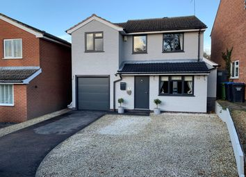 Thumbnail Detached house for sale in Walnut Close, Leicester