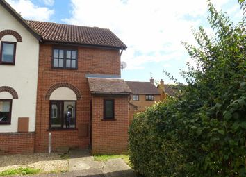 Thumbnail 2 bedroom end terrace house to rent in Annesley Close, Sawtry, Huntingdon