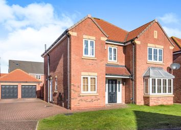 Thumbnail 4 bedroom detached house for sale in Pools Brook Park, Kingswood, Hull