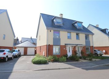 4 bed semi-detached house for sale in Freemantle Road, Romsey, Hampshire SO51